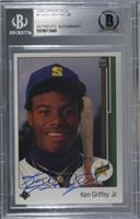 Ken Griffey Jr. [BAS Certified Encased by BGS]