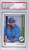 Gary Sheffield (Error: Upside Down SS on Front) [PSA 9]