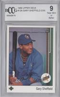 Gary Sheffield (Upside Down SS on Front) [Encased]