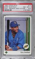 Gary Sheffield (Correct: Right Side Up SS on Front) [PSA 8.5 NR&#8209…