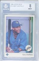 Gary Sheffield (Right Side Up SS on Front) [BGS 8 NM‑MT]