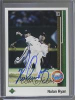 Nolan Ryan [JSA Certified COA Sticker]