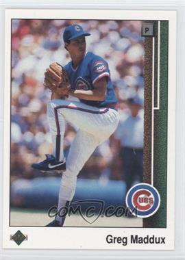 1989 Upper Deck - [Base] #241 - Greg Maddux