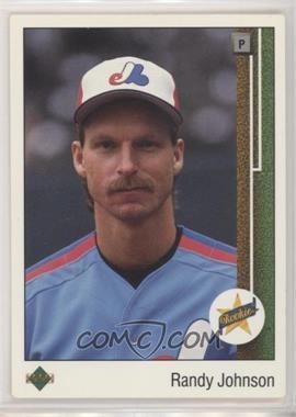 1989 Upper Deck - [Base] #25 - Randy Johnson