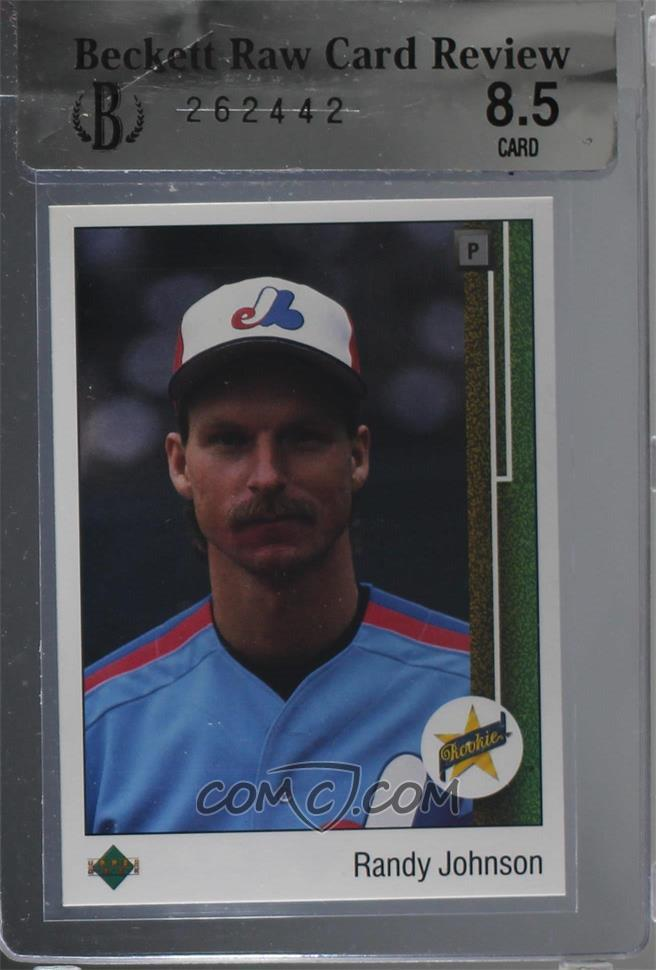 1989 Upper Deck Base 25 Randy Johnson Brcr 85