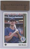 Dale Murphy (Error: Reversed Image)