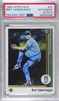 Bret Saberhagen [PSA Authentic PSA/DNA Cert]