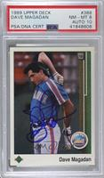 Dave Magadan [PSA/DNA Certified Encased]