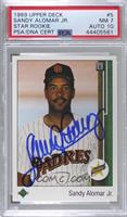Sandy Alomar Jr. [PSA/DNA Certified Encased]