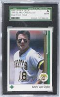 Andy Van Slyke, John Cangelosi [SGC AUTHENTIC]