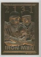 Cal Ripken Jr., Lou Gehrig (2131 Iron Men) #/30,000