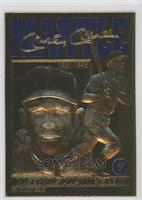 Mickey Mantle Baseball's All-Time Great (Blue Foil)
