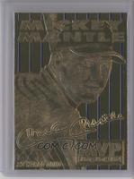 Mickey Mantle MVP (Blue Foil Background Pinstripes)
