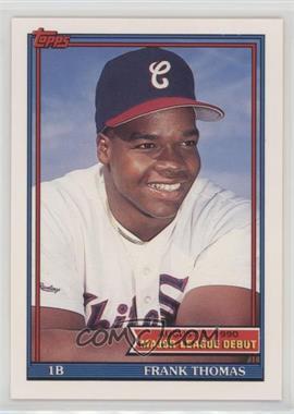 1990-91 Topps Major League Debut 1990 - Box Set [Base] #153 - Frank Thomas