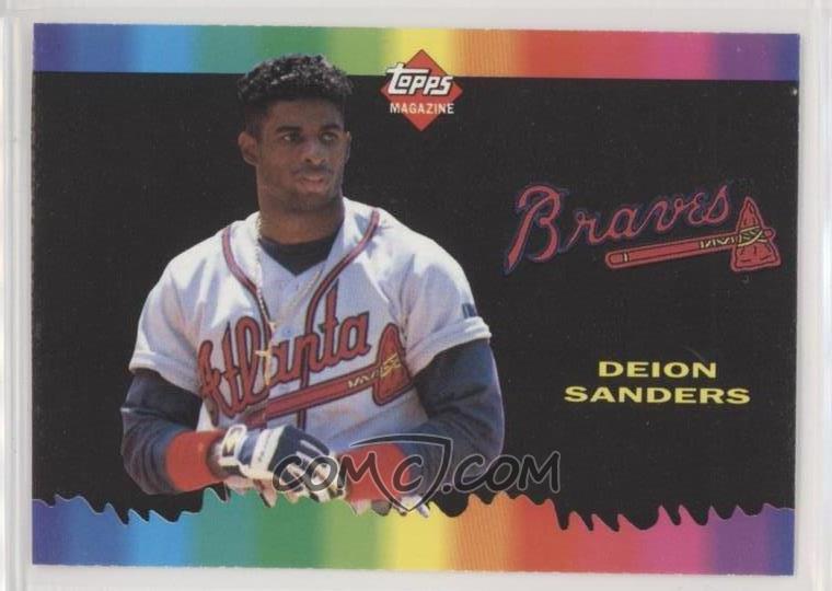 1990 93 Topps Magazine Cards Base Tm82 Deion Sanders