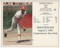 Bob Gibson [EX to NM]
