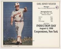 Earl Weaver (Standing) [EX to NM]