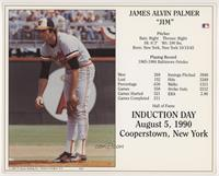 Jim Palmer [EX to NM]