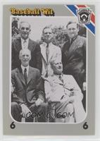 Nap Lajoie, George Sisler, Cy Young, Walter Johnson, Connie Mack