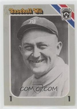 1990 Baseball Wit - [Base] #56 - Ty Cobb