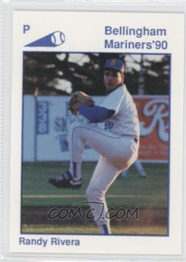 1990 Bellingham Mariners - [Base] #24 - Randy Rivera