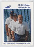 Gary Wheelock, Spyder Webb, Myron Pines