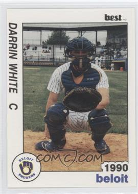 1990 Best Beloit Brewers - [Base] #14 - Darrin White