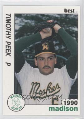 1990 Best Madison Muskies - [Base] #23 - Timothy Peek