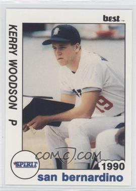 1990 Best San Bernardino Spirit - [Base] #25 - Kerry Woodson