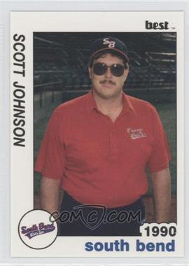 1990 Best South Bend White Sox - [Base] #25 - Scott Johnson