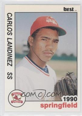 1990 Best Springfield Cardinals - [Base] #12 - Carlos Landinez