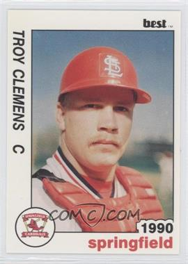1990 Best Springfield Cardinals - [Base] #7 - Troy Clemens