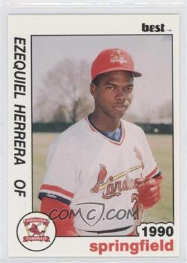1990 Best Springfield Cardinals - [Base] #9 - Ezequiel Herrera