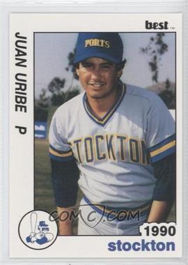 1990 Best Stockton Ports - [Base] #18 - Juan Uribe