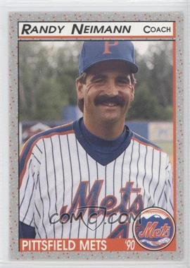 1990 Bill Pucko Pittsfield Mets - [Base] #26 - R.A. Neitzel
