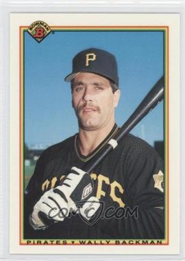 1990 Bowman - Factory Set [Base] - Collector's Edition (Tiffany) #177 - Wally Backman