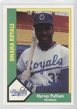 1990 CMC AAA - Omaha Royals Green Backs #17 - Harvey Pulliam