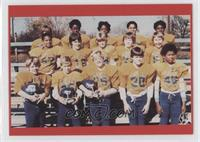 Dave Justice football team photo