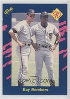 Bay Bombers (Will Clark, Kevin Mitchell)
