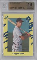 Chipper Jones [BGS 9.5 GEM MINT]