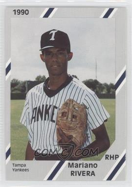 1990 Diamond Cards Tampa Yankees - [Base] #17 - Mariano Rivera