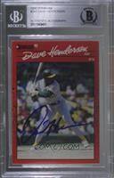 Dave Henderson [BGS Authentic]