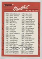 Checklist (Cards 224-321)