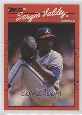1990 Donruss - [Base] #405.2 - Sergio Valdez (No Black Line Through S)