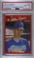 Nolan Ryan (5000 K's on Front and Back) [PSA8NM‑MT]