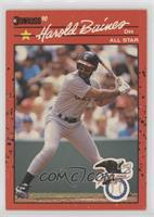 Harold Baines (Black Line Through Star and