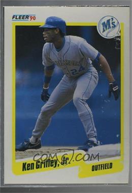 e4b35eacea 1990 Fleer - Wax Box Bottoms #C-10 - Ken Griffey Jr. - COMC Card ...