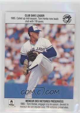 1990 Hostess Toronto Blue Jays - [Base] #TOHE - Tom Henke
