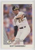 Scott Sanderson Baseball Cards