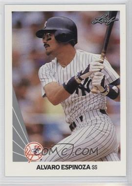1990 Leaf - [Base] #240 - Alvaro Espinoza